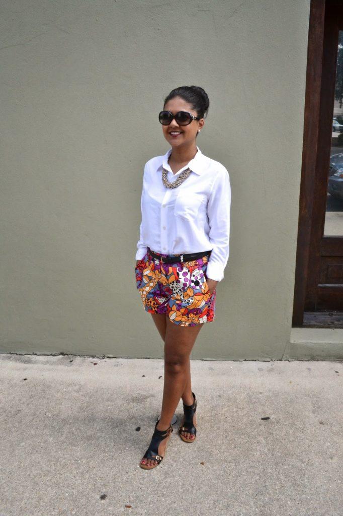 theory blouse naneete lepore shorts aerosols