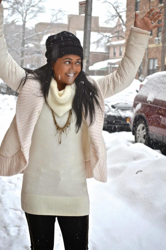 snowstorm winter snow streets