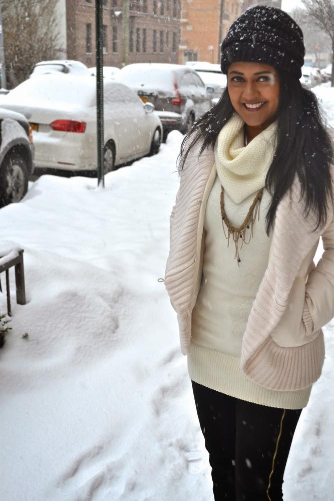 sweater winter snowstorm jacket