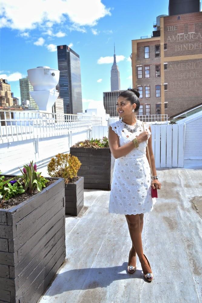 Zara dress gucci clutch