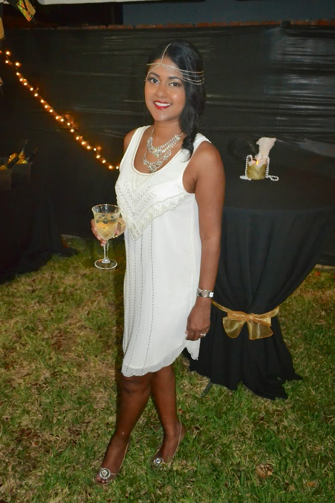 great gatsby white dress