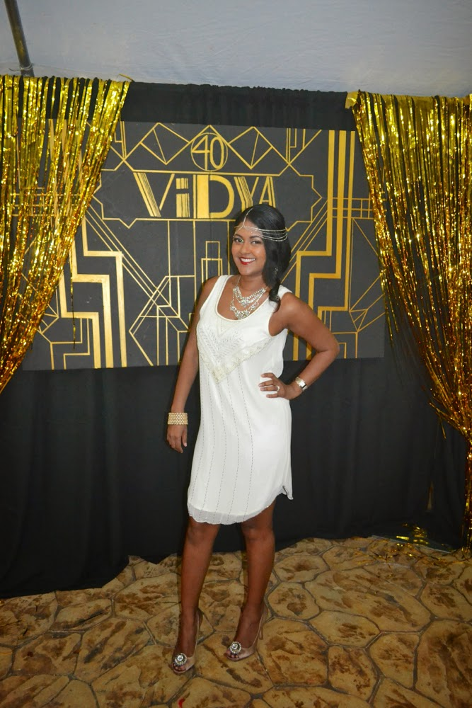 great gatsby themed party headpiece
