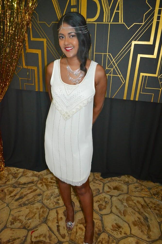 white beaded dress great gatsby white beaded dress
