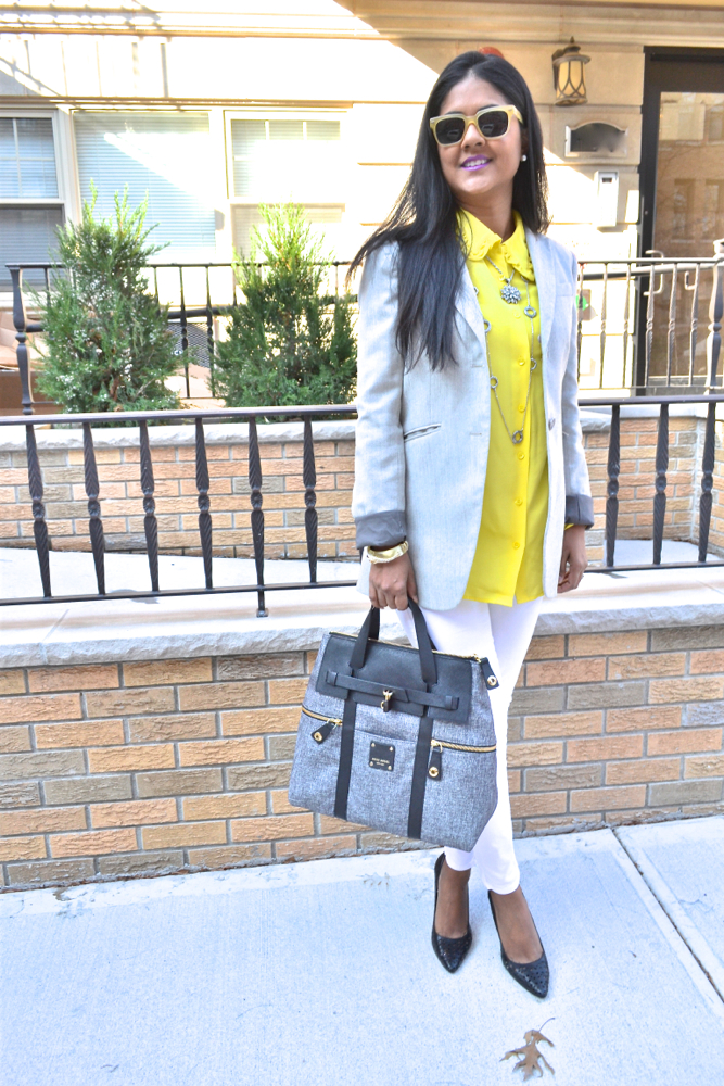 Theory blazer and equipment blouse