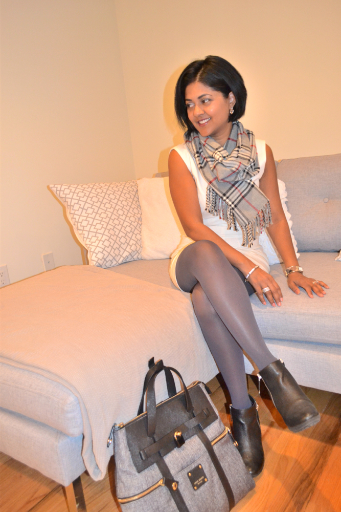 grey and white outfit ideas no nonsense tights