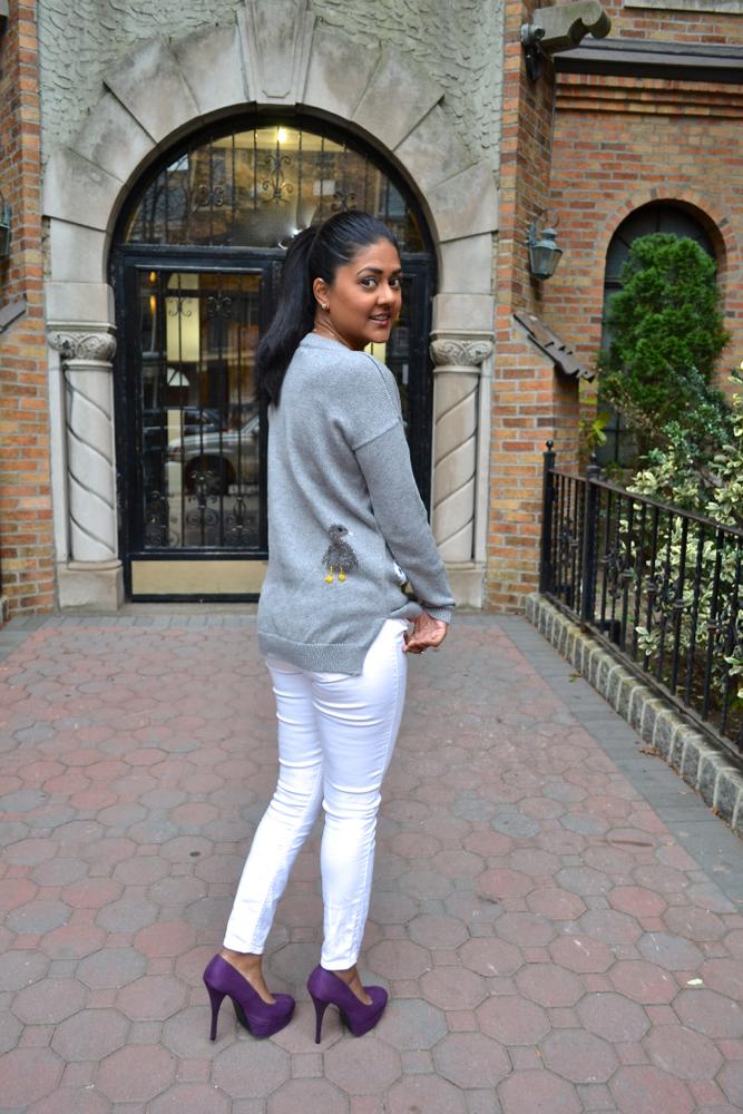gray sweater maison jules macy's
