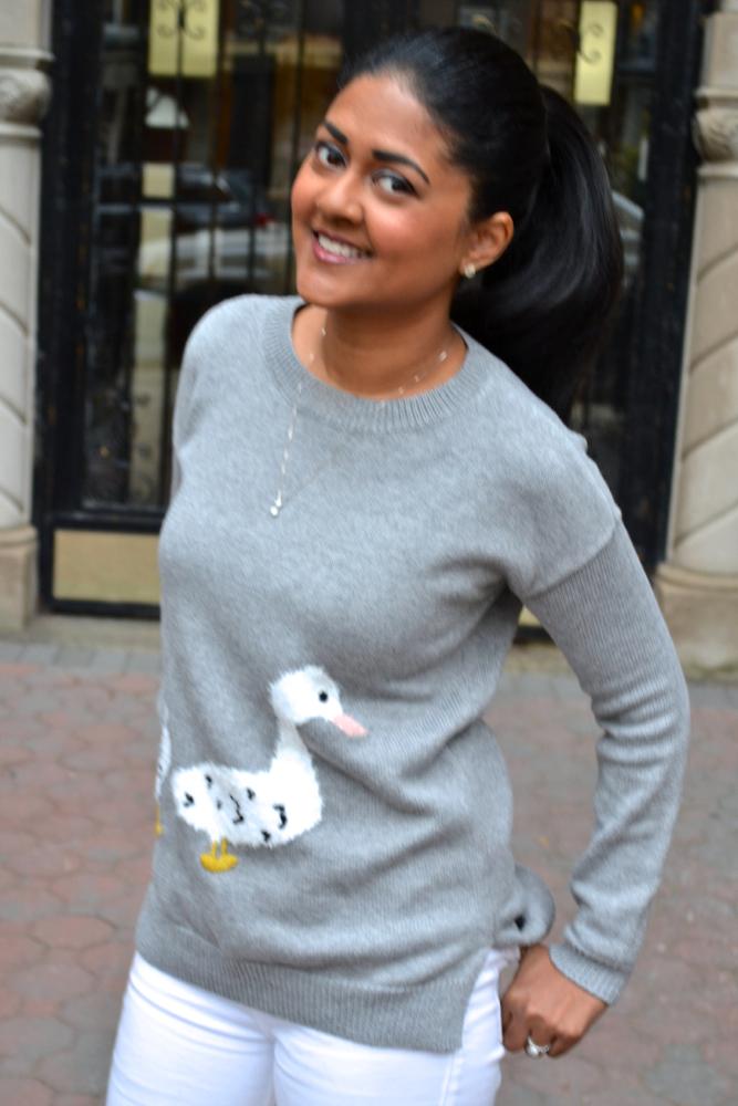 Maison Jules Sweater Astoria in Heels