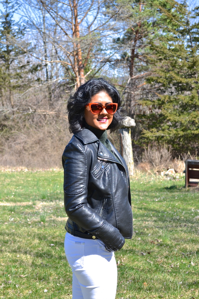 Zara Leather Jacket Hudson New York