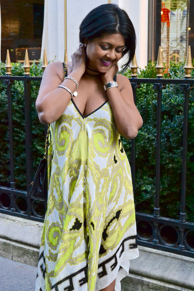 Theodora Callum scarf dress