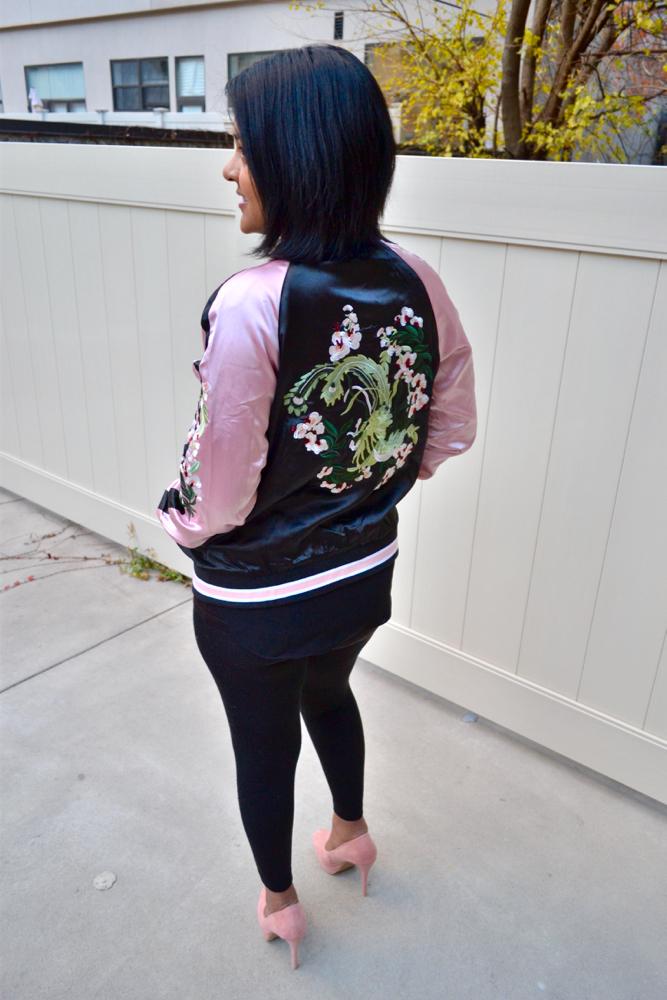 stylish bomber jackets le tote