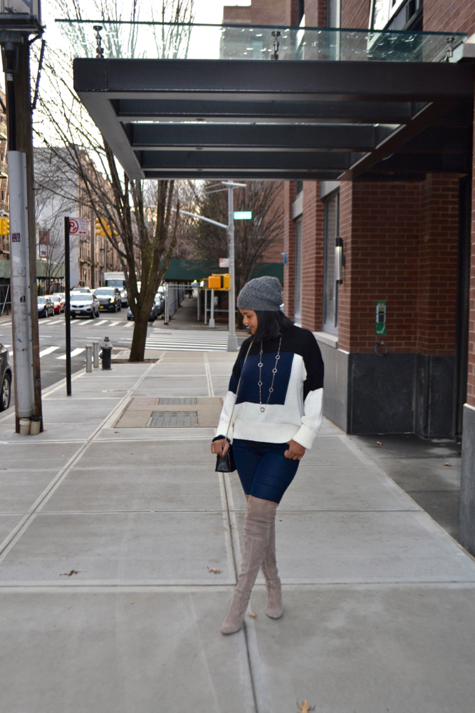 Winter outfits in New York
