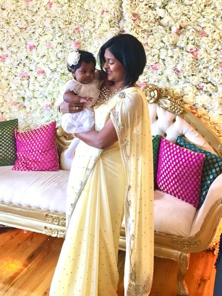 Motherhood journey with a newborn