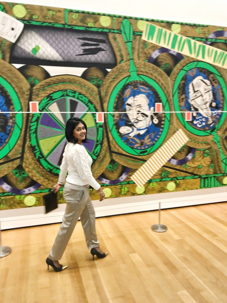 Visiting MOMA in New York City