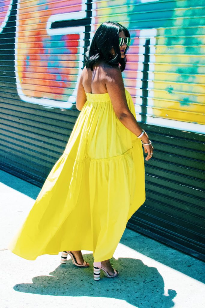 yellow dresses for day to night