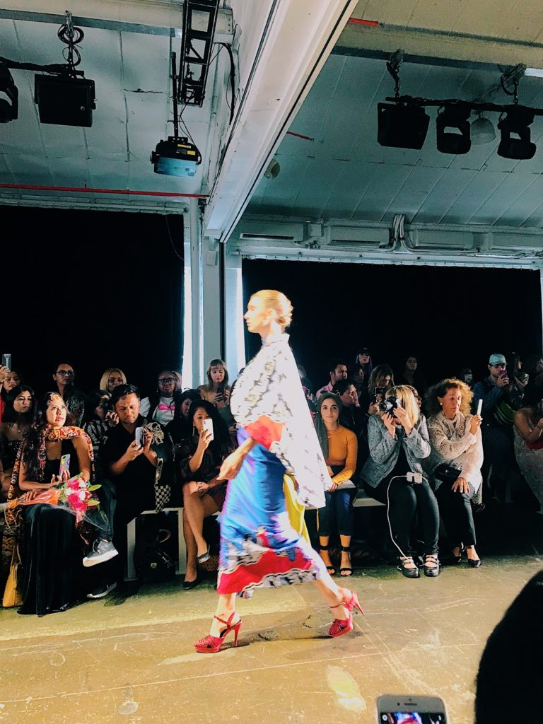 Indonesian Diversity runway show NYFW SS19