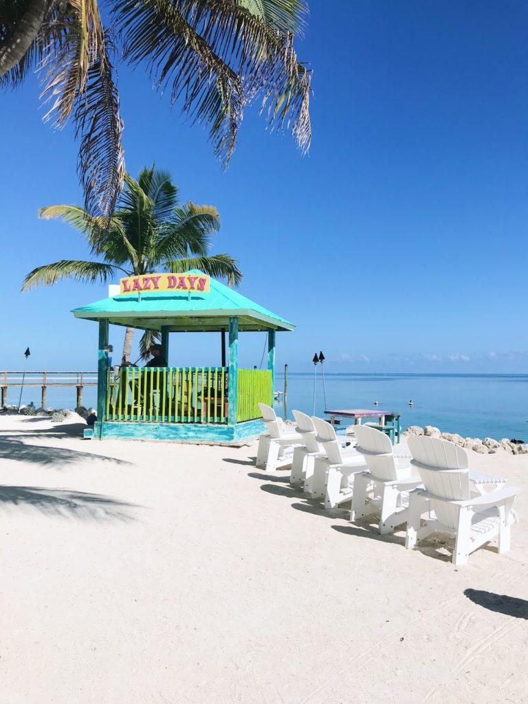 lazy days islamorada beach bar